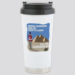 Let My Cameron Go Stainless Steel Travel Mug