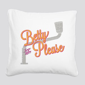 Laverne and Shirley: Betty Pl Square Canvas Pillow