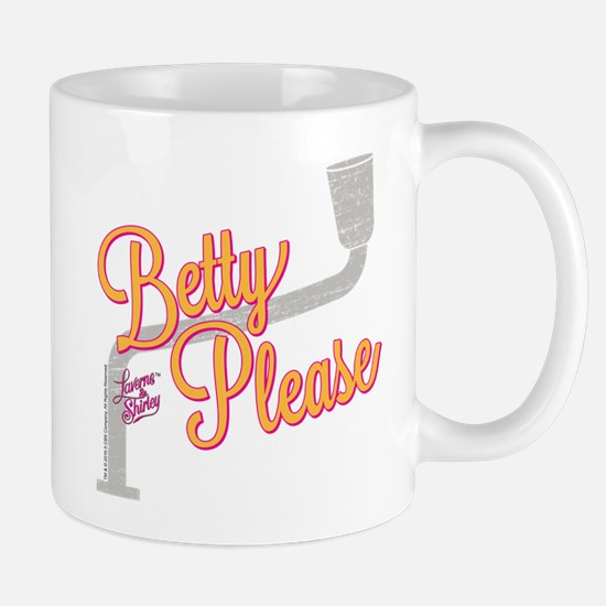 Laverne and Shirley: Betty Please Mug