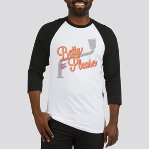 Laverne and Shirley: Betty Please Baseball Jersey