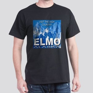 Visit The High Country Elmo, Dark T-Shirt