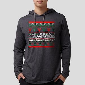 I Am Lawyer Christmas Ugly Swe Long Sleeve T-Shirt