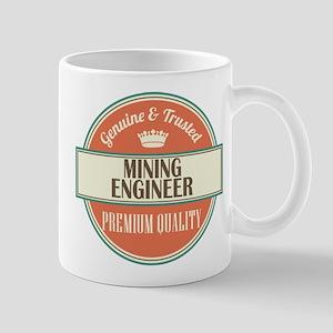 mining engineer vintage logo Mug