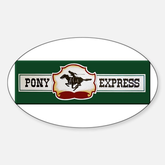 Pony Express Decal