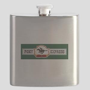 Pony Express Flask