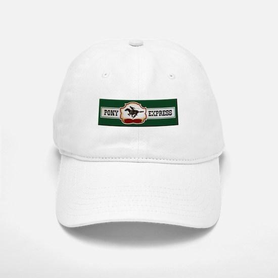 Pony Express Baseball Baseball Baseball Cap