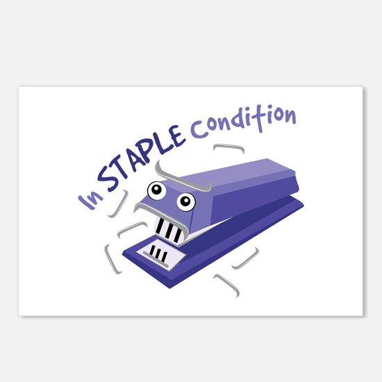 In Staple Condition Postcards (Package of 8)