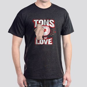 Family Guy Tons of Love Dark T-Shirt