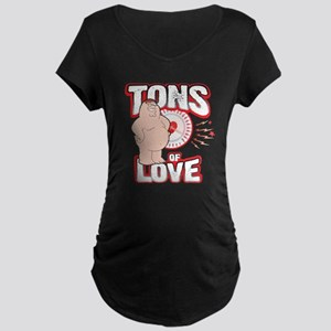 Family Guy Tons of Love Maternity Dark T-Shirt