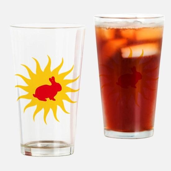 Red dwarf Drinking Glass