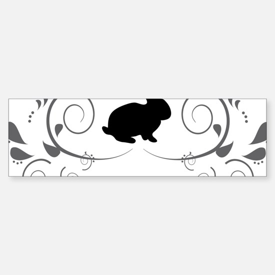 Cool Wild rabbit Sticker (Bumper)