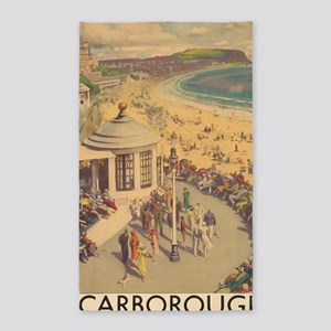 Scarborough, United Kingdom, Vintage Trav Area Rug