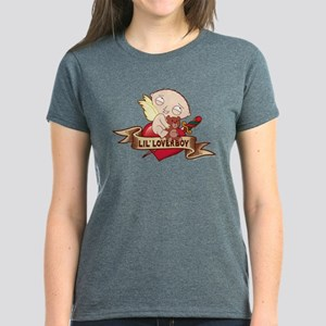 Family Guy Lil Loverboy Women's Dark T-Shirt
