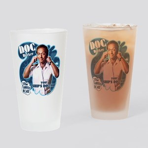 The Love Boat: Doc Bricker Drinking Glass