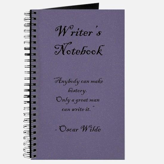 """Oscar Wilde"" - Writer's Notebook"
