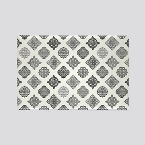 MOROCCAN TILE Rectangle Magnet