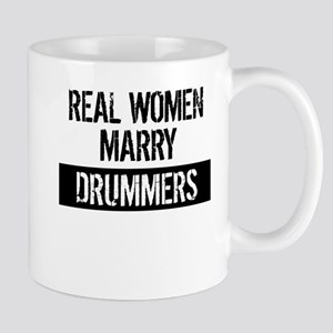 Real Women Marry Drummers Mugs