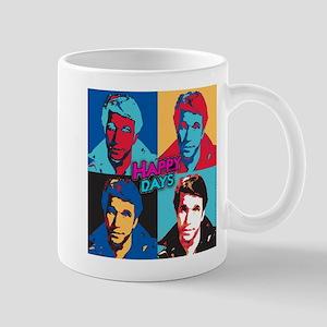 Happy Days: Fonzie Collage Mug
