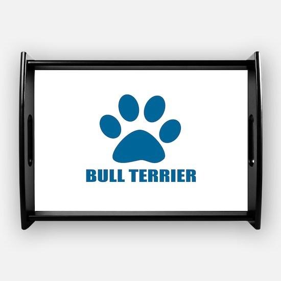 Bull Terrier Dog Designs Coffee Tray