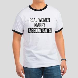 Real Women Marry Accountants T-Shirt
