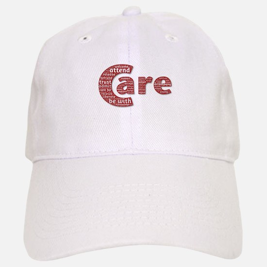 Words of Care Baseball Baseball Cap