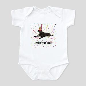 Custom Chocolate Lab Infant Bodysuit