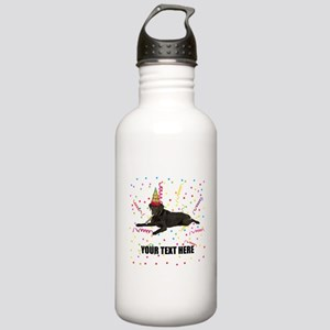 Custom Chocolate Lab Stainless Water Bottle 1.0L