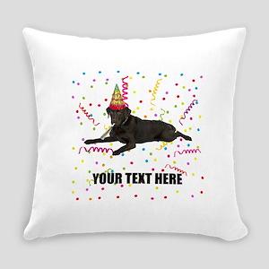 Custom Chocolate Lab Everyday Pillow