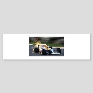 F1 Sparks Bumper Sticker