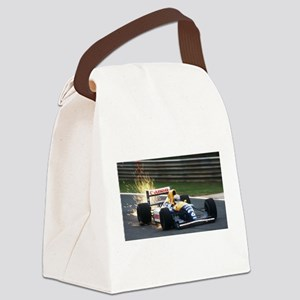 F1 Sparks Canvas Lunch Bag