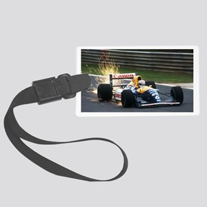 F1 Sparks Large Luggage Tag