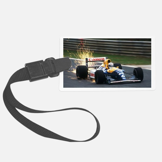 F1 Sparks Luggage Tag