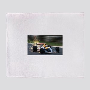 F1 Sparks Throw Blanket