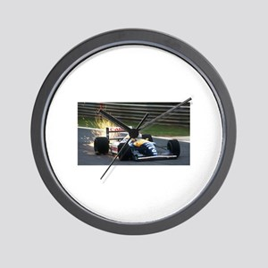 F1 Sparks Wall Clock