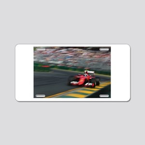 F1Blur Aluminum License Plate