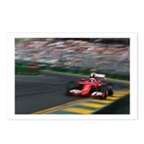 Formula one racing Postcards