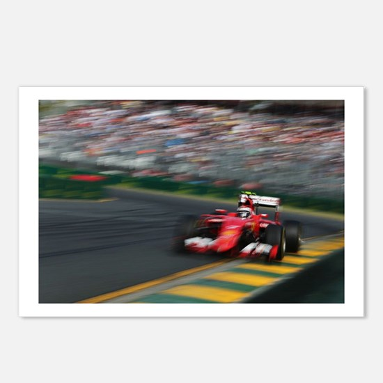 F1Blur Postcards (Package of 8)