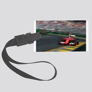 F1Blur Large Luggage Tag