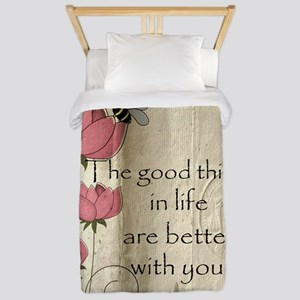 Better with you Twin Duvet