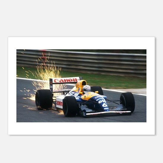 F1 Sparks Postcards (Package of 8)