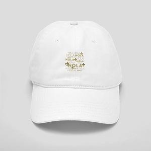 NOLA NOLA NOLA Gold Fleur de Lis Cap