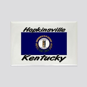 Hopkinsville Kentucky Rectangle Magnet