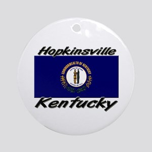 Hopkinsville Kentucky Ornament (Round)