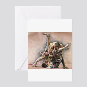 Ultimate Fighting Greeting Cards