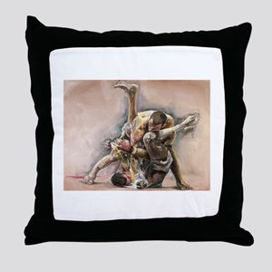 Ultimate Fighting Throw Pillow