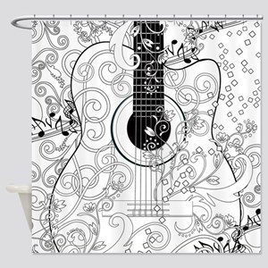 Adult Coloring Canvas Adult Colorin Shower Curtain
