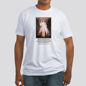 divine mercy jesus i trust in you front T-Shirt