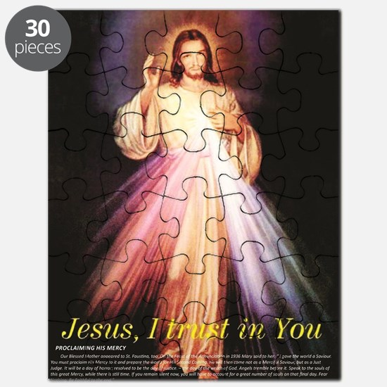 Unique Trust jesus Puzzle