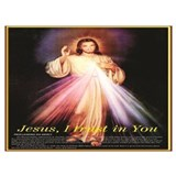 Jesus i trust in you Posters