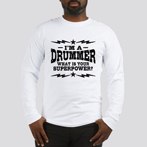 Funny Drummer Long Sleeve T-Shirt